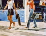 """Shopping"", 2004, oil on canvas, 114x146cm"