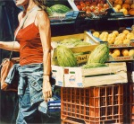 """Street Still Life"", 2004, oil on canvas, 148x160cm"