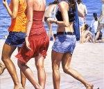 """Seaside Walk I"", 2006, oil on canvas, 130x150cm"