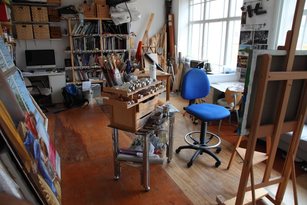 artist studio michele del campo london