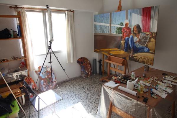 artist studio michele del campo valencia