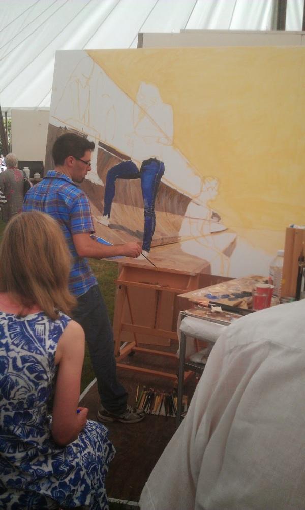 michele del campo, art in action 2014