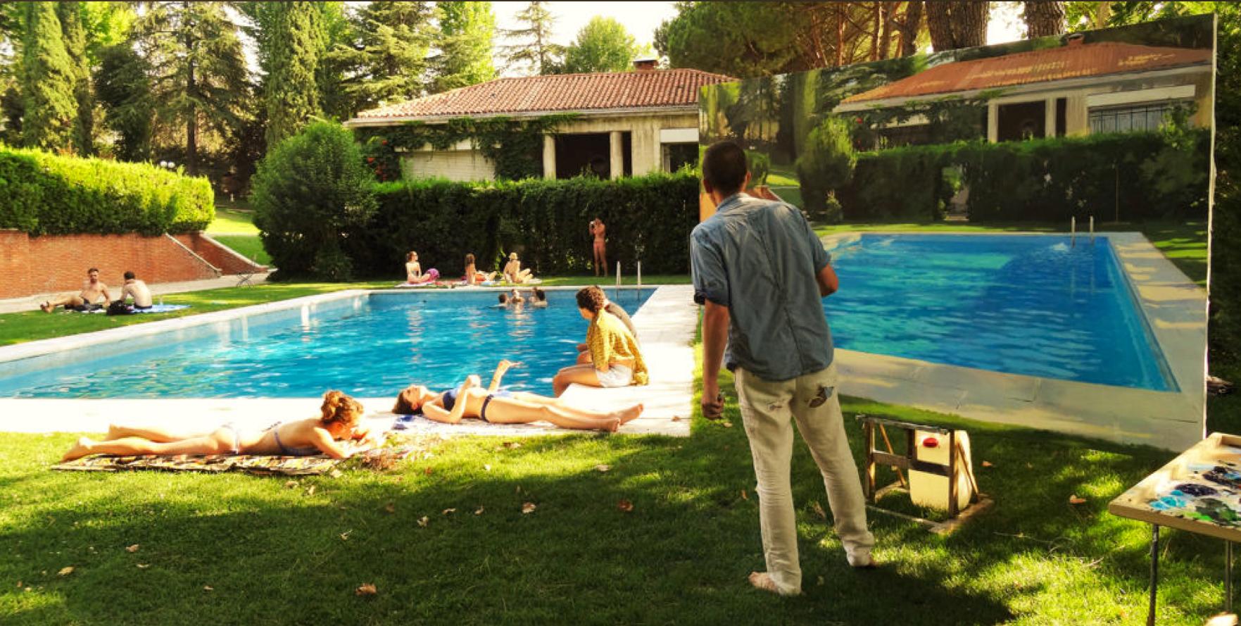 Piscina casa de campo madrid cool imagen de la piscina de for Piscinas nudistas en madrid