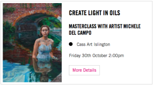cass art islington workshop michele del campo